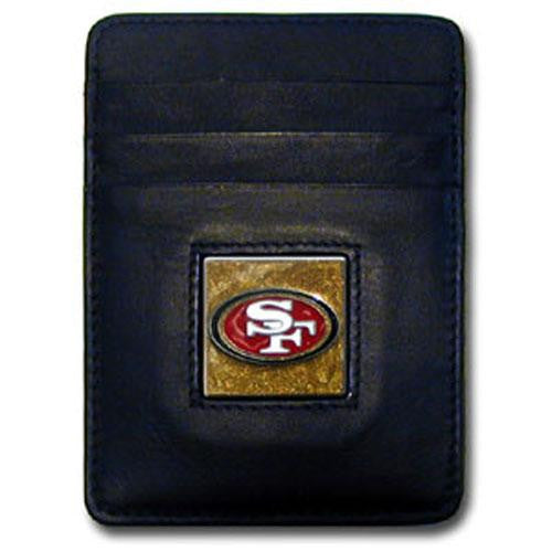 San Francisco 49ers Executive NFL Money Clip/Card Holder xyz