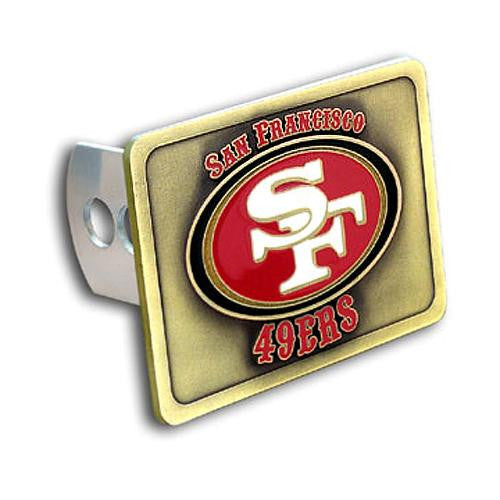 San Francisco 49ers NFL Trailer Hitch Cover