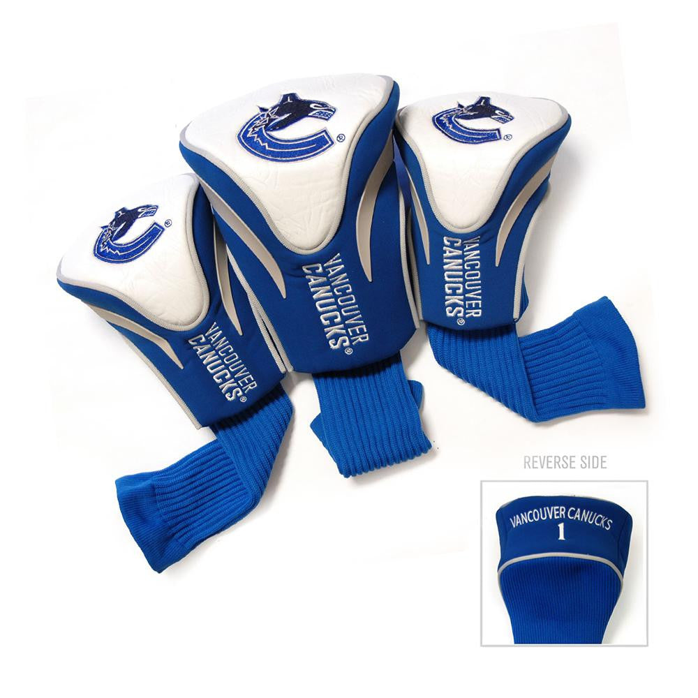 Vancouver Canucks NHL 3 Pack Contour Fit Headcover