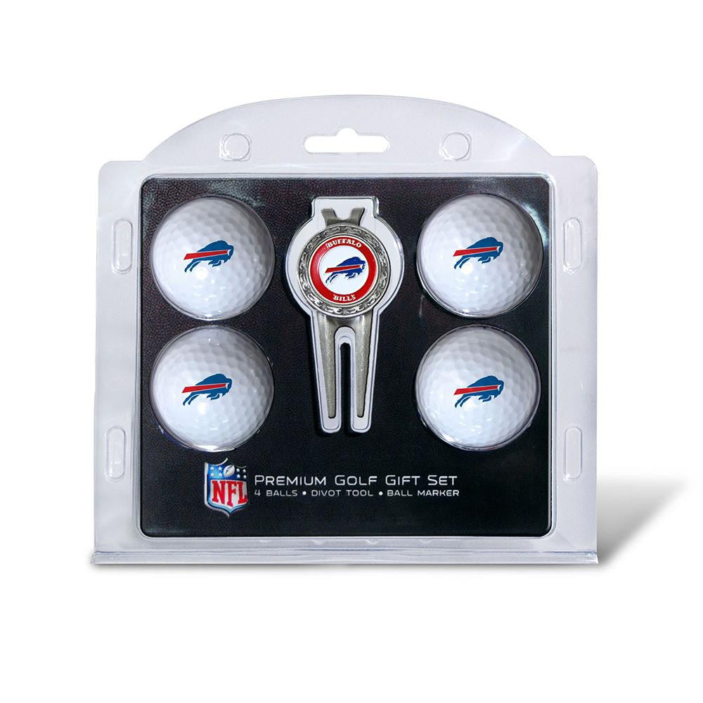 Buffalo Bills NFL 4 Ball/Divot Tool Set