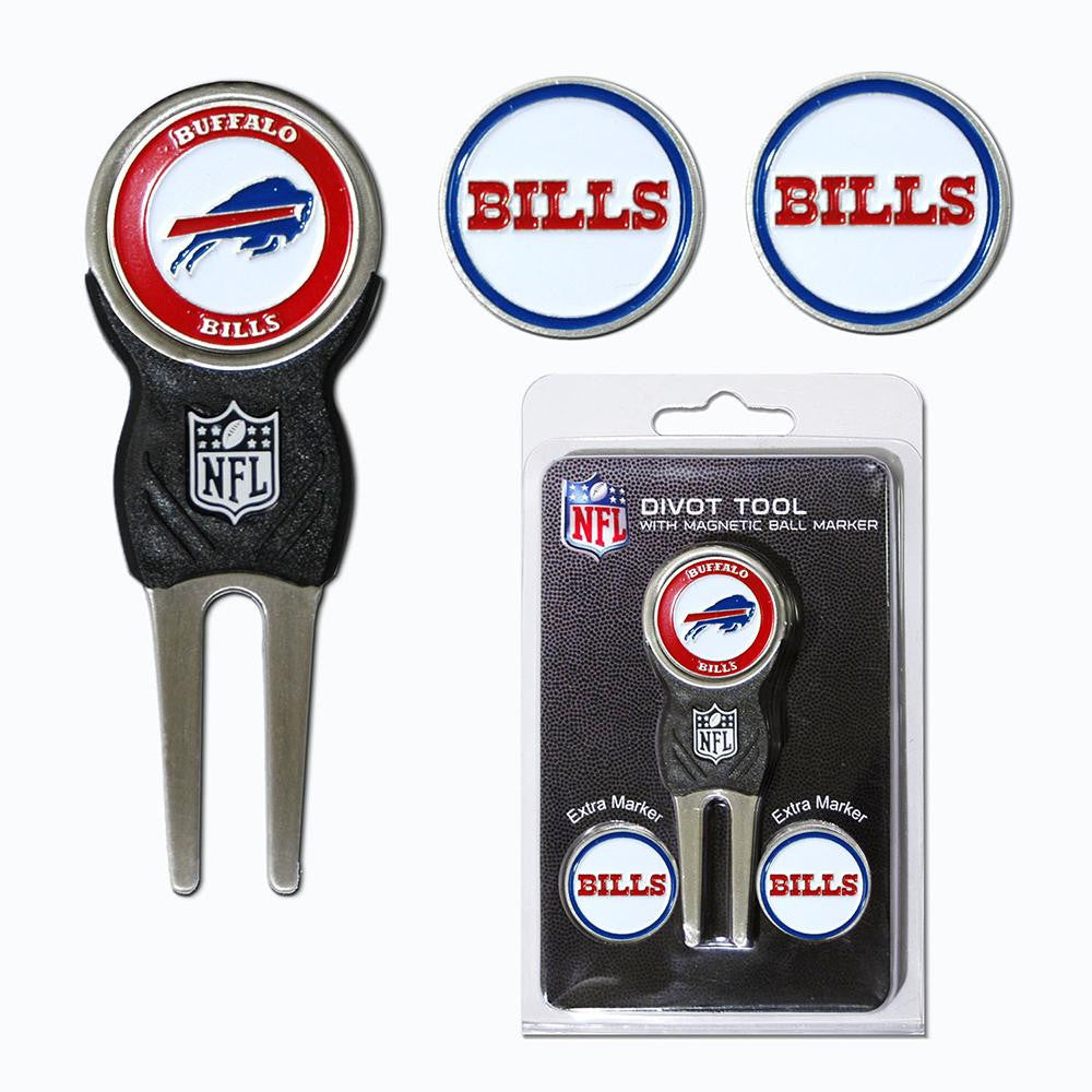 Buffalo Bills NFL Divot Tool Pack w/Signature tool