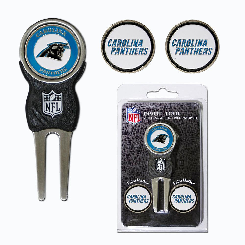 Carolina Panthers NFL Divot Tool Pack w/Signature tool