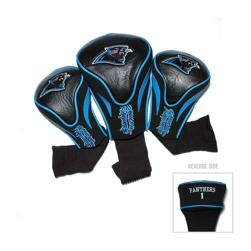 Carolina Panthers NFL 3 Pack Contour Fit Headcover