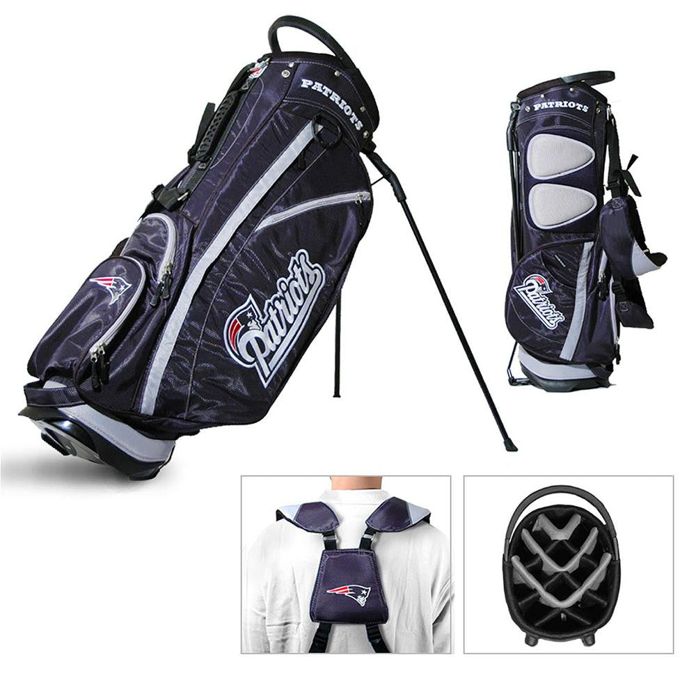 New England Patriots NFL Stand Bag - 14 way Fairway