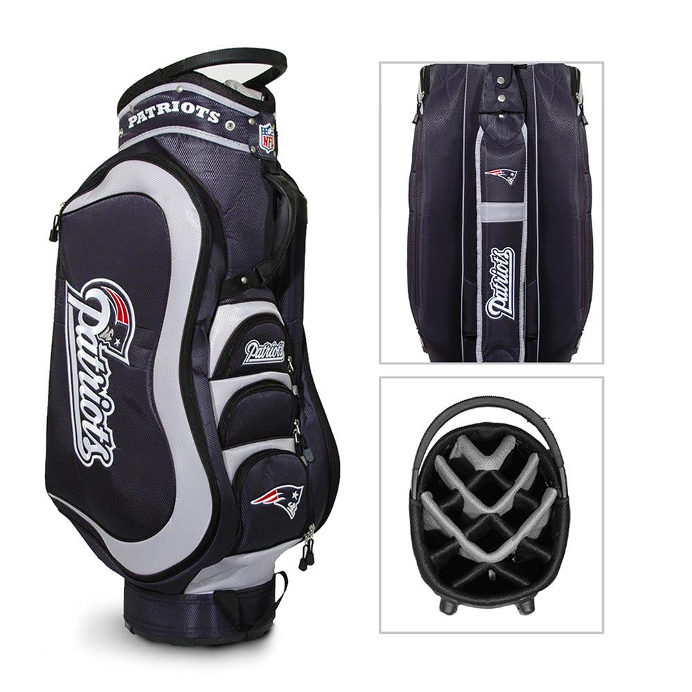 New England Patriots NFL Cart Bag - 14 way Medalist