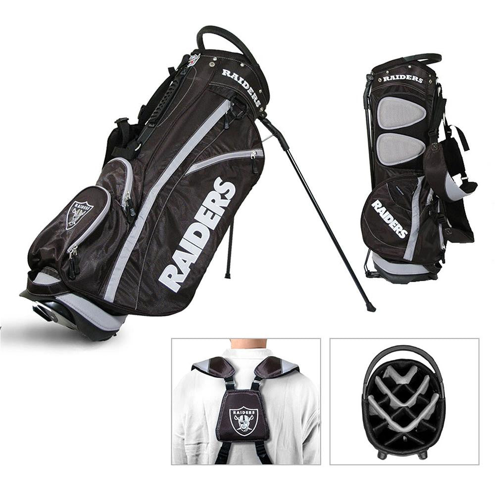 Oakland Raiders NFL Stand Bag - 14 way Fairway