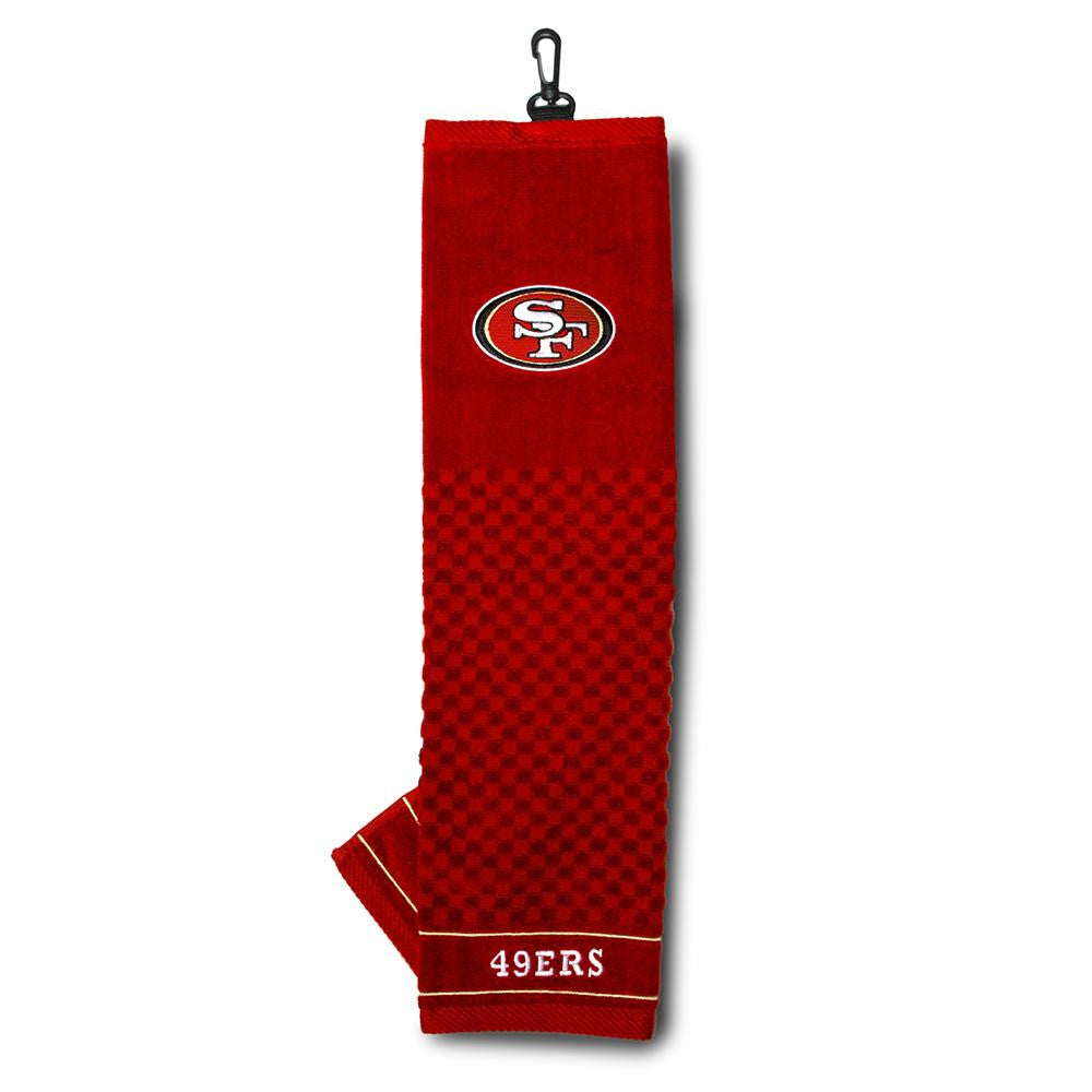 San Francisco 49ers NFL Embroidered Towel