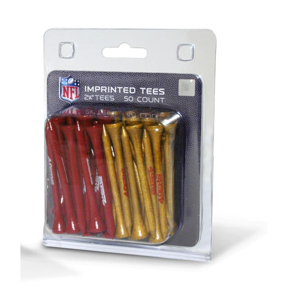 San Francisco 49ers NFL 50 imprinted tee pack