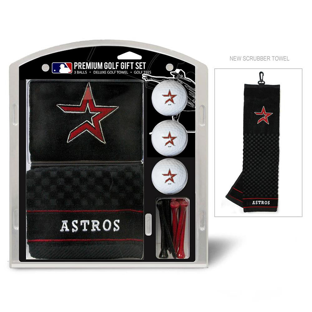 Houston Astros MLB Embroidered Towel Gift Set