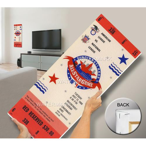 1988 MLB All-Star Game Mega Ticket - Reds Host