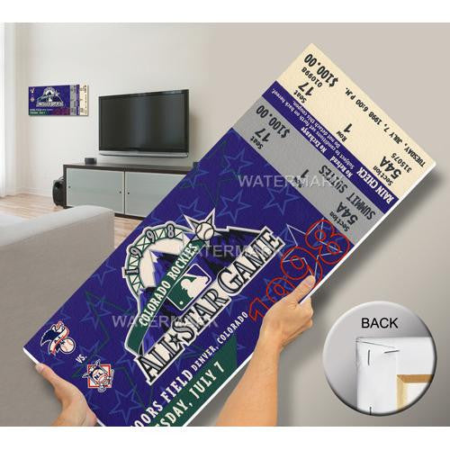 1998 MLB All-Star Game Mega Ticket - Rockies Host