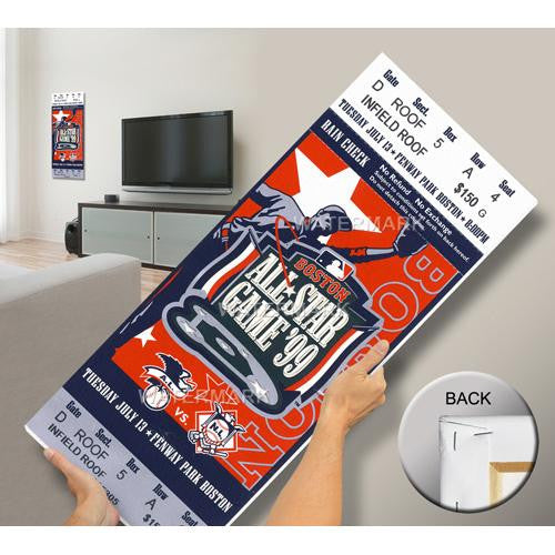 1999 MLB All-Star Game Mega Ticket - Red Sox Host