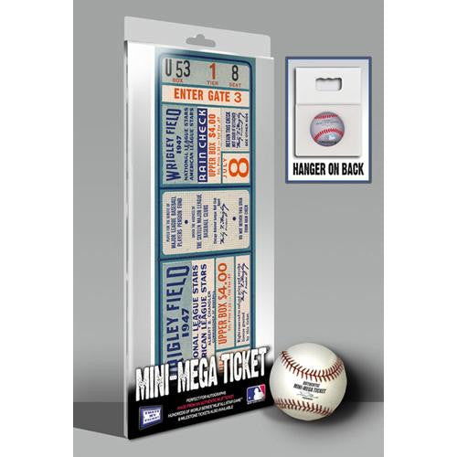 1947 MLB All-Star Game Mini-Mega Ticket - Chicago Cubs