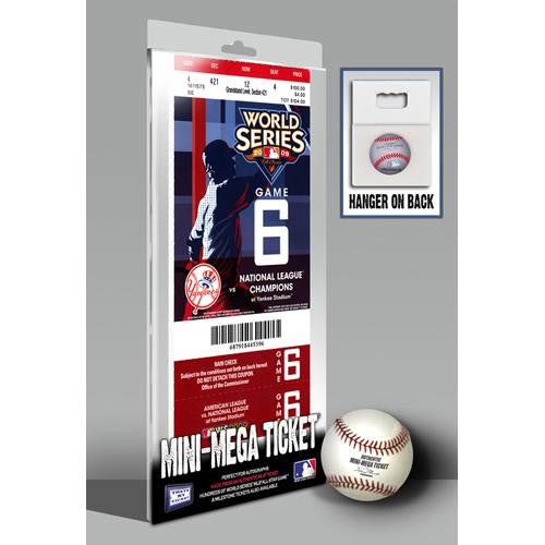 2009 World Series Mini-Mega Ticket - New York Yankees