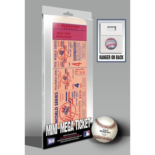 1956 World Series Mini-Mega Ticket - New York Yankees