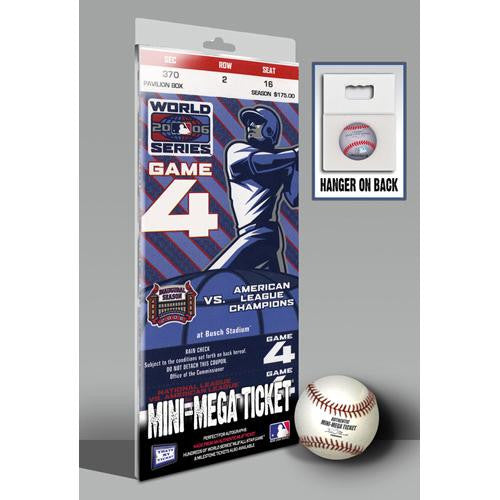 2006 World Series Mini-Mega Ticket - St Louis Cardinals