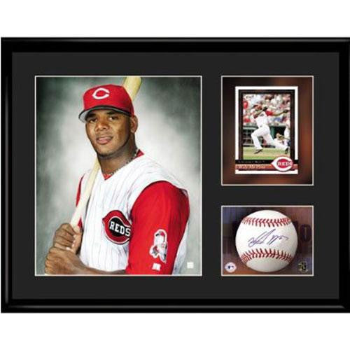 Cincinnati Reds MLB Wily Mo Pena- Limited Edition Toon Collectible With Facsimile Signature.
