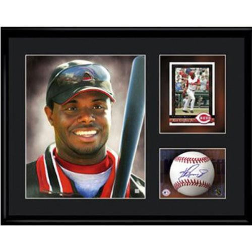 Cincinnati Reds MLB Ken Griffey Jr.- Limited Edition Toon Collectible With Facsimile Signature.