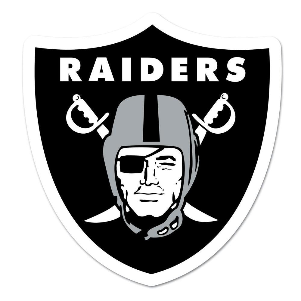 Oakland Raiders NFL Automotive Grille Logo on the GOGO