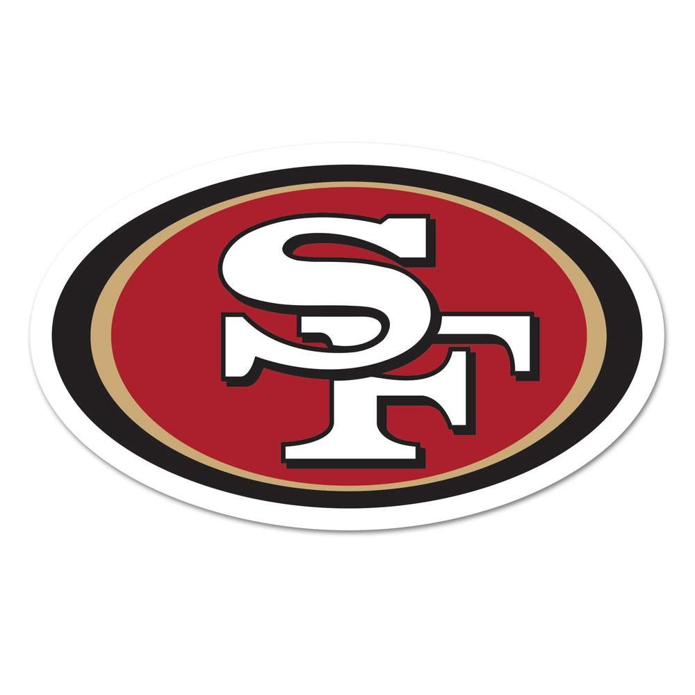 San Francisco 49ers NFL Automotive Grille Logo on the GOGO