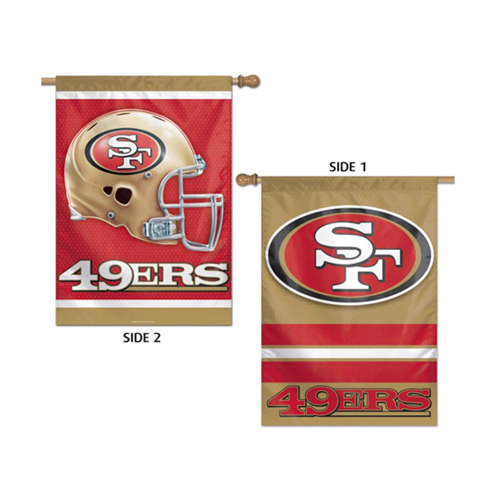 San Francisco 49ers NFL Premium 2-Sided Vertical Flag (28x40)