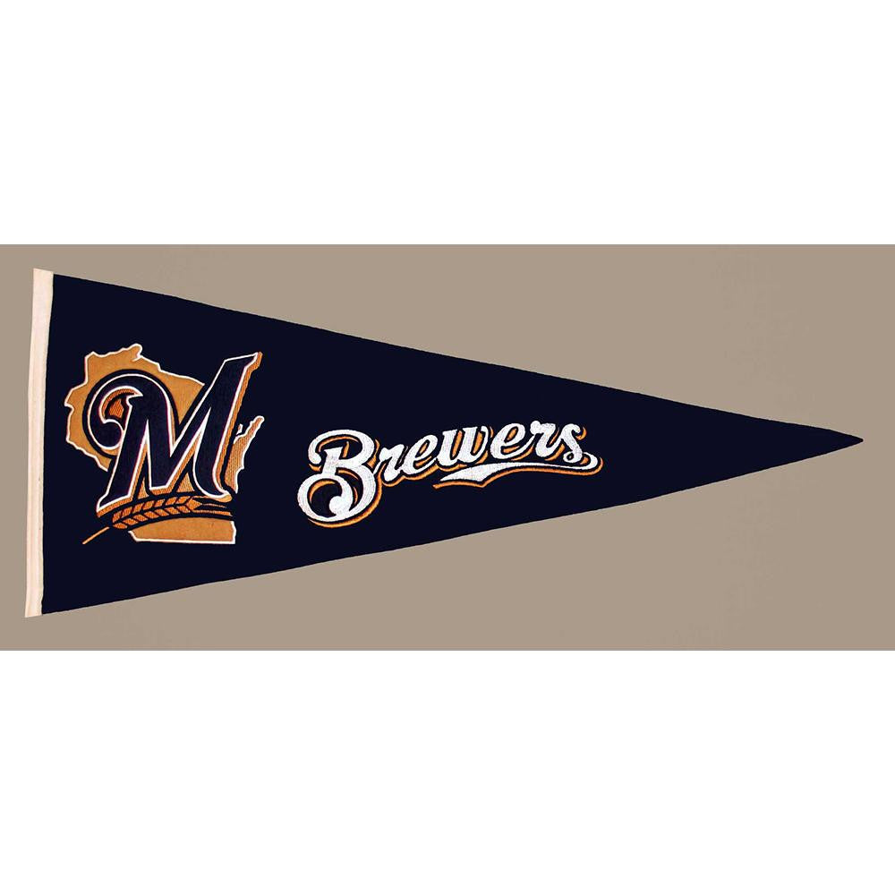 Milwaukee Brewers MLB Traditions Pennant (13x32)