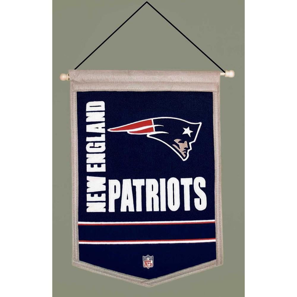 New England Patriots NFL Traditions Banner (12x18)