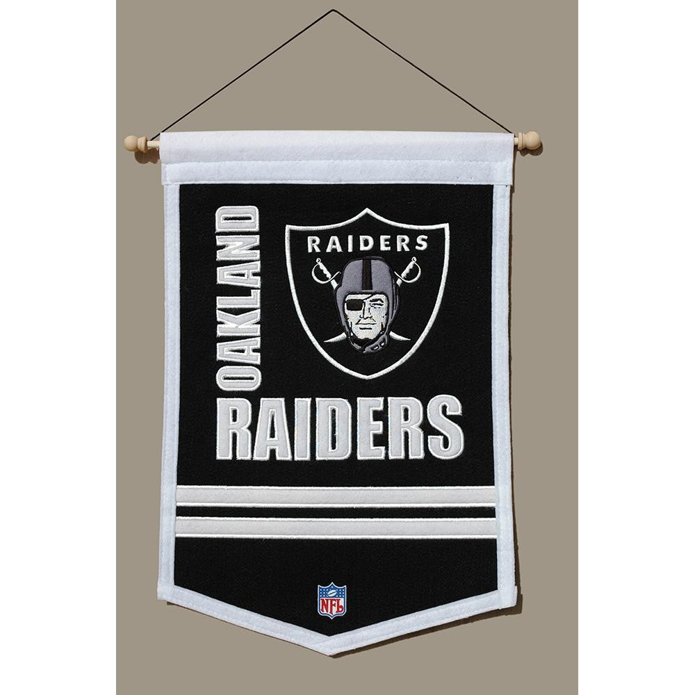 Oakland Raiders NFL Traditions Banner (12x18)