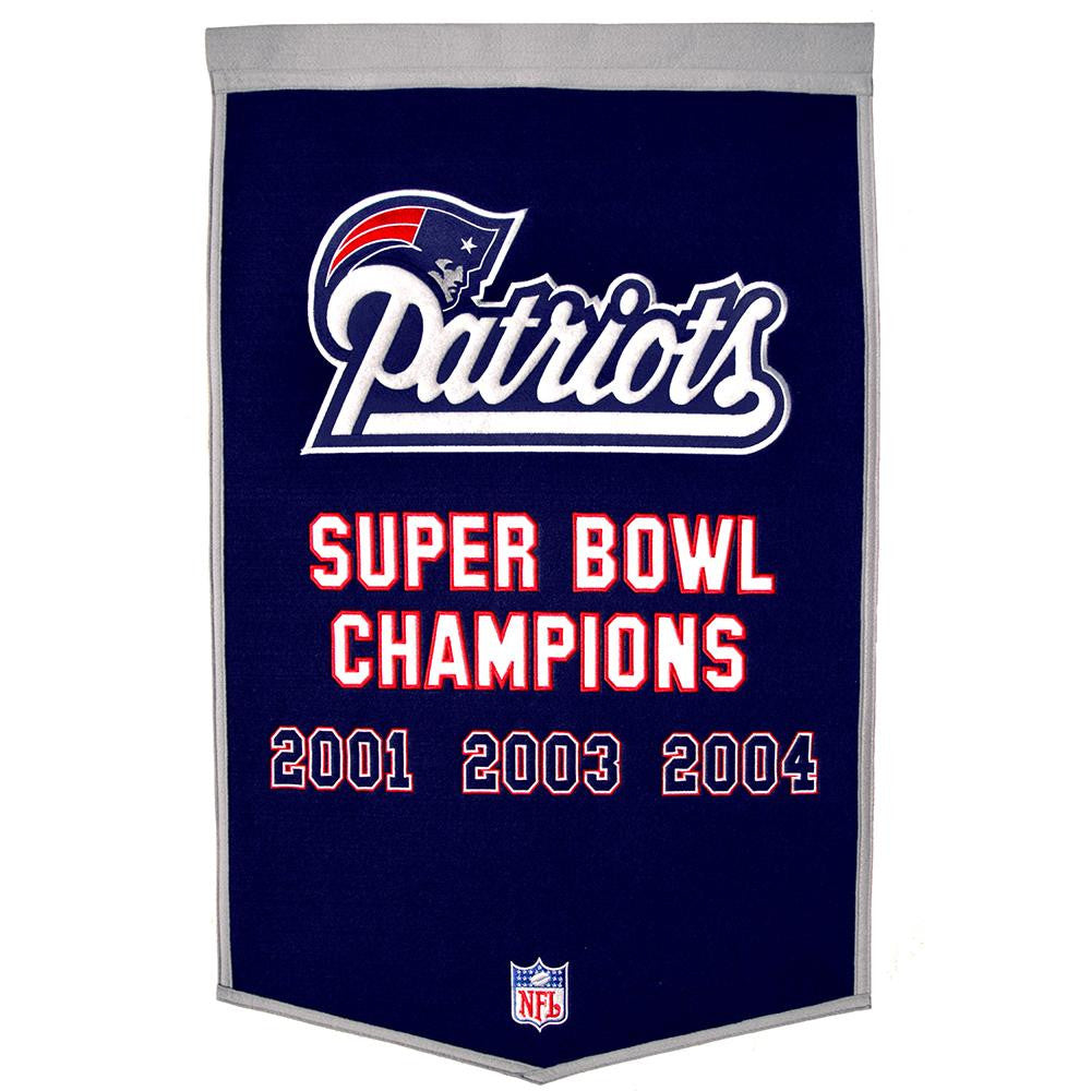 New England Patriots NFL Dynasty Banner (24x36)