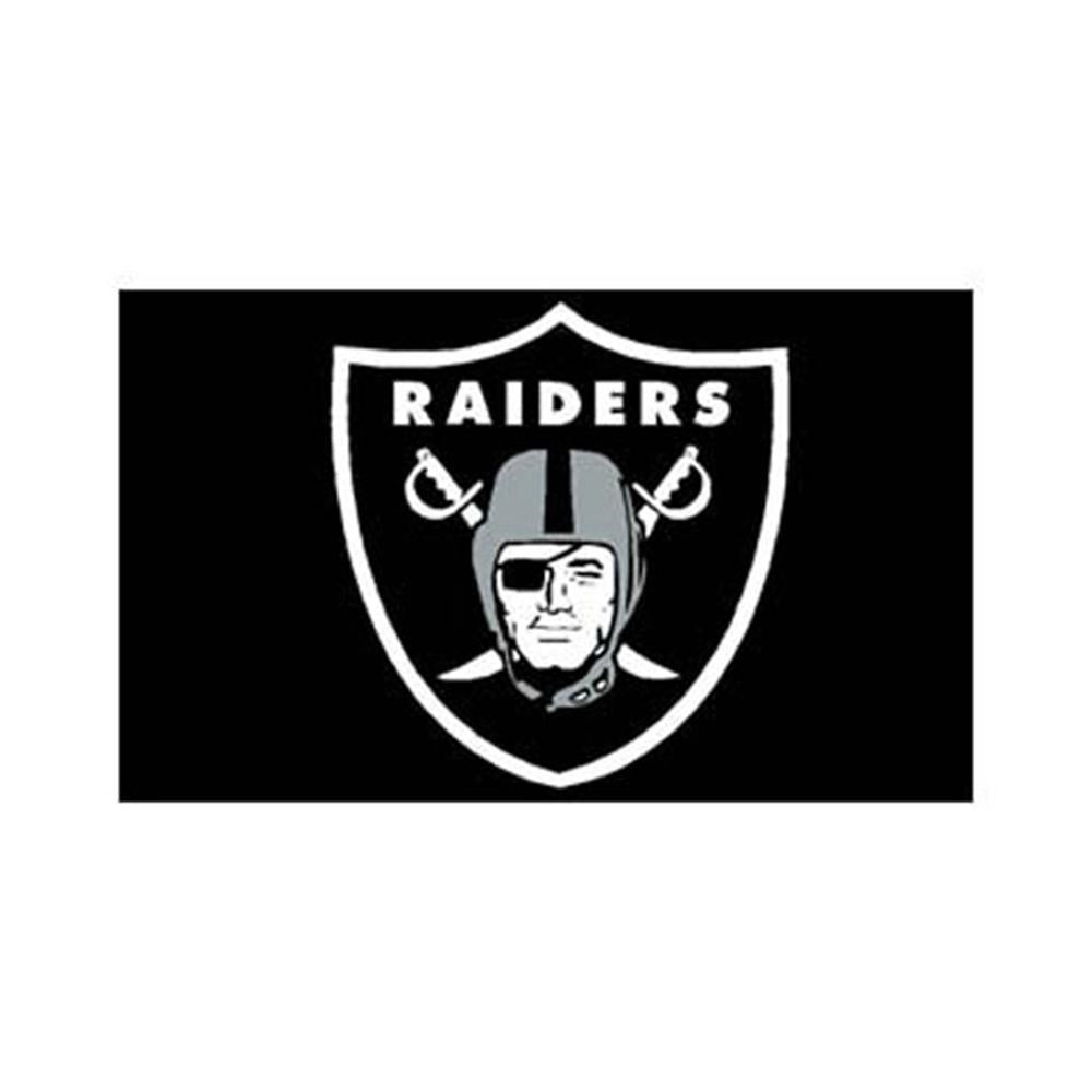 Oakland Raiders NFL 3x5 Banner Flag (36x60)