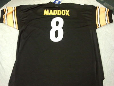 88964d14b ... shopping tommy maddox 8 pittsburgh steelers retro reebok authentic  jersey shipping 69d7f a89fa