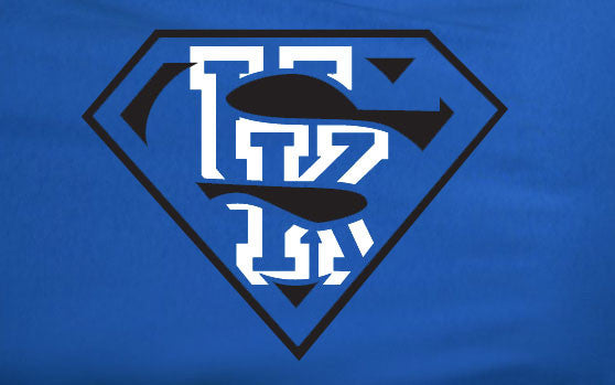 Blue Premium Custom 2 Color University of Kentucky Basketball Superteam Superman Tee Tshirt T-Shirt Batman