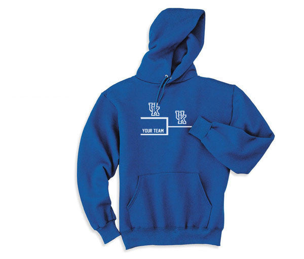 Blue University Kentucky Wildcats Basketball UK VS World Hoodie Hooded Sweatshirt  Ladies Unisex Child Toddler Men