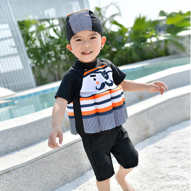 228400a4cf2ae ... Kids Swimwear For Girls Swimming Suit Junior Swimsuit Bathing Suits  2018 Boys Drying Aids Children Floating ...