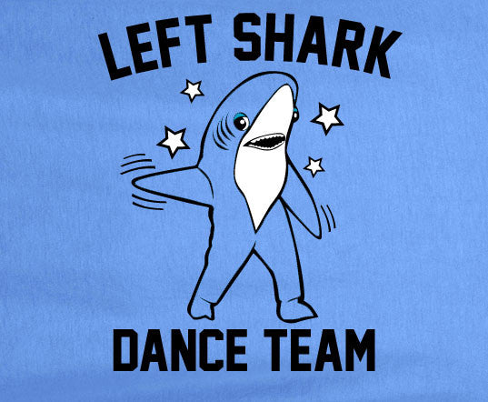 Parody Left Shark Katy Perry Superbowl 49 Dance Team Real MVP Ladies Mens Unisex Hoodie Hooded Sweatshirt