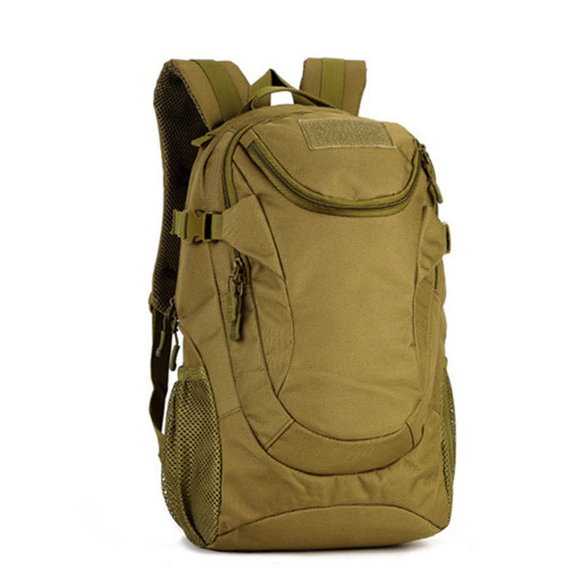 ad6610ca110 Men s Tactical Backpack Military Shoulder Bag Molle Outdoor Sports Bags  Mountaineering Travel Laptop Bags Schoolbag Pack
