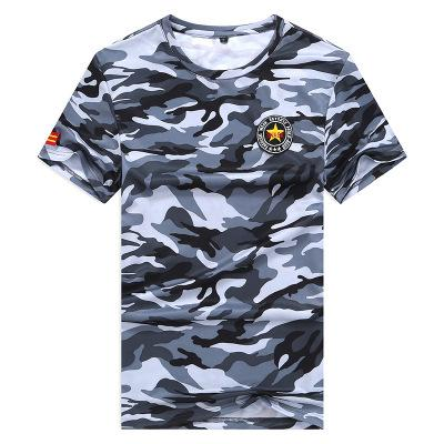 Military Tactical T Shirt Cotton Camouflage Tee Shirt Men Outdoor Sport T- shirt Camping Hiking 5fab61c25202