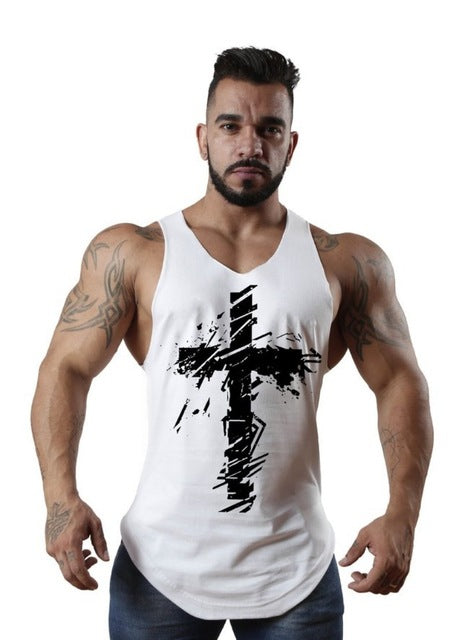 4341378ff1b126 New arrival Fitness Mens sports Sleeveless Shirt running Vests quick-dry  Tops Tank Top Men