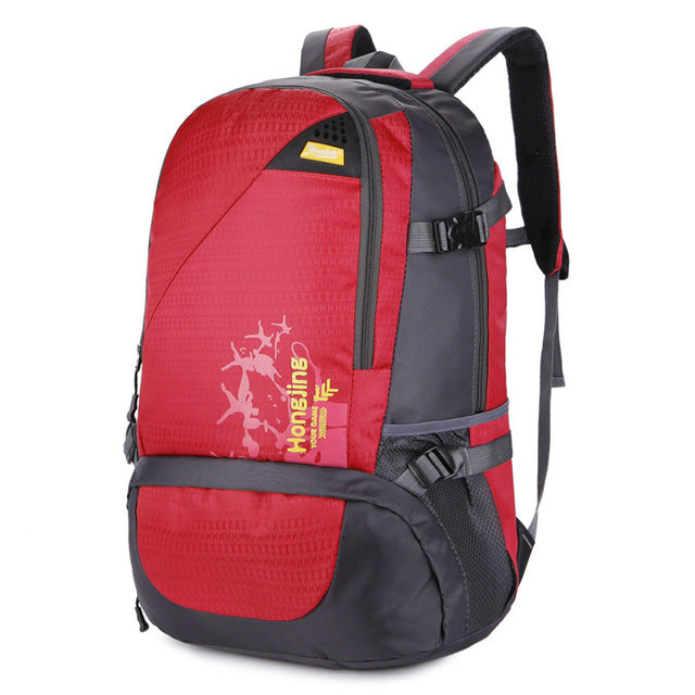 91773b9a7747 Sports gym bag Outdoor Hiking Backpack 40L Instant Waterproof Anti-tear  Quality Men Women Climbing Travel Cycling Sports Backpack KO_5_1