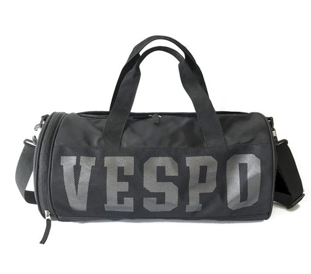 e828303b1a42 Outdoor Hot Men Sports Gym Bags New Wet Dry Separation Mesh Yoga Fitness  Shoulder Bag Women