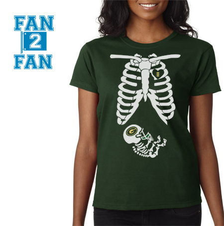Green 1 Color Pregnant Maternity Baby newborn Green Bay Packers Tee Tshirt T-Shirt