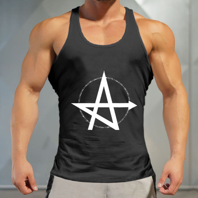 a07df6b1534bd Quickly Dry Sports Top Training gym T-shirt Sleeveless black Men Workout  Fitness Running Vests