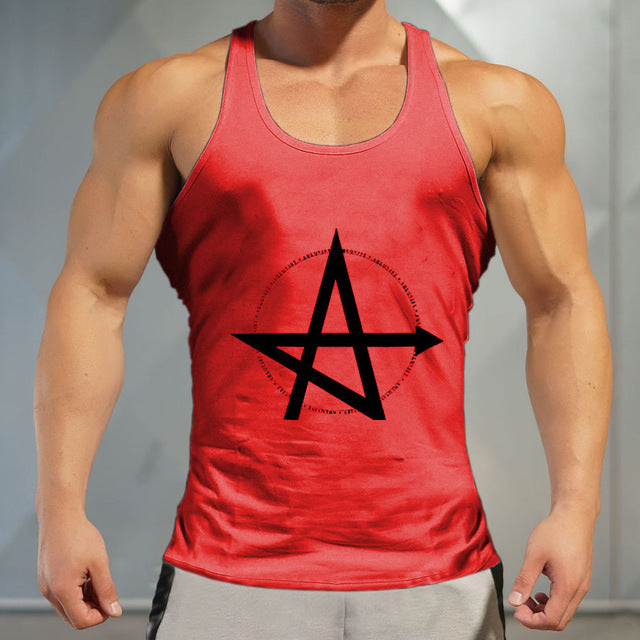 a35c909f2ab33 ... Quickly Dry Sports Top Training gym T-shirt Sleeveless black Men  Workout Fitness Running Vests ...
