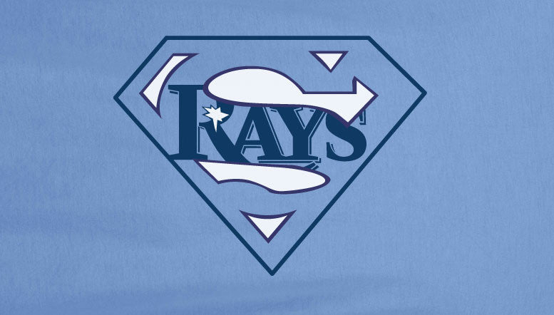 Carolina Premium 2 Color Tampa Bay Devil Rays Devilrays Superteam Superman Tee Tshirt T-Shirt Batman