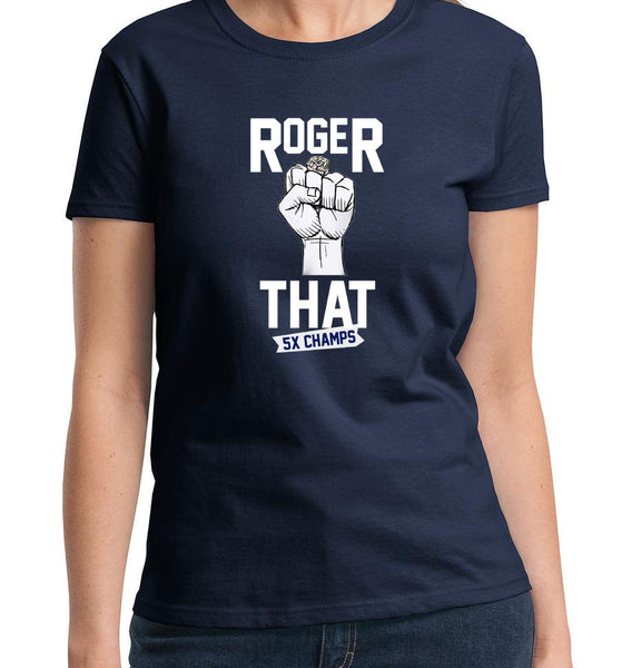 Roger That Patriots Brady Tee T-Shirt Superbowl 5x Champions
