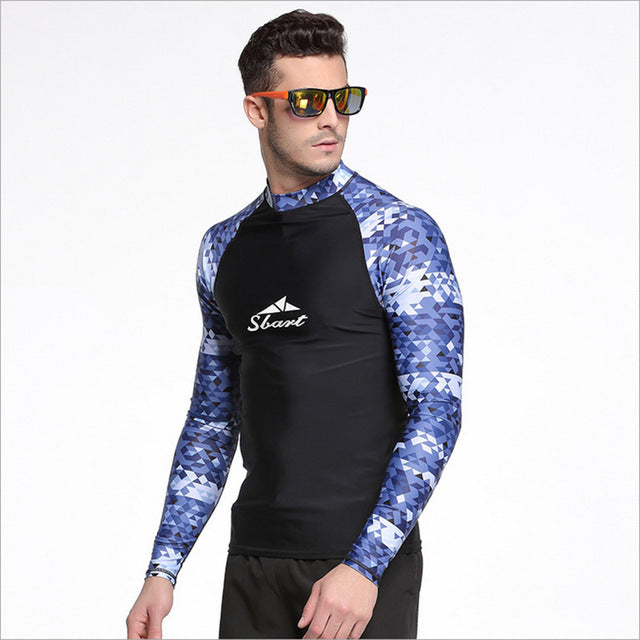 19f79a82f5 Surfing Surfer Slacker T-shirt Sbart Men Swimwear Tops Swimming Shirt –  KO_41_13_(Kickoffshirts.com_Fishing)_2018