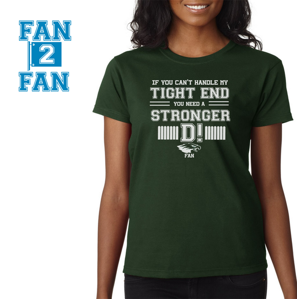 Green If can't handle tight end you need stronger D Philadelphia Eagles Tee Tshirt T-Shirt
