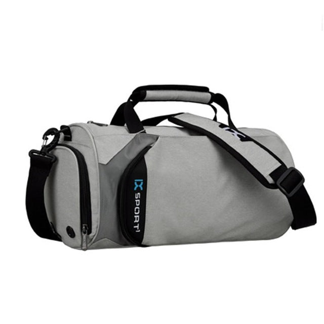 f96faac920 Waterproof Polyester Sports Bag Cylinder Package Bag For Fitness Yoga Shoulder  Bag Outdoor Traveling Luggage Handbags
