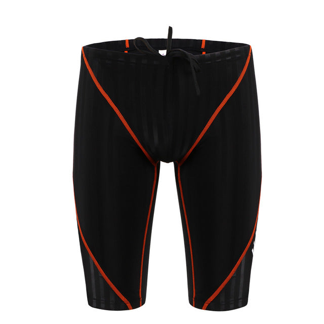 3f9fb9d444 Yingfa Swimwear Men Boys Swimming Briefs Sharkskin Competitive Swimsuit  Plus Size Racing Professional Waterproof Fifth Pants