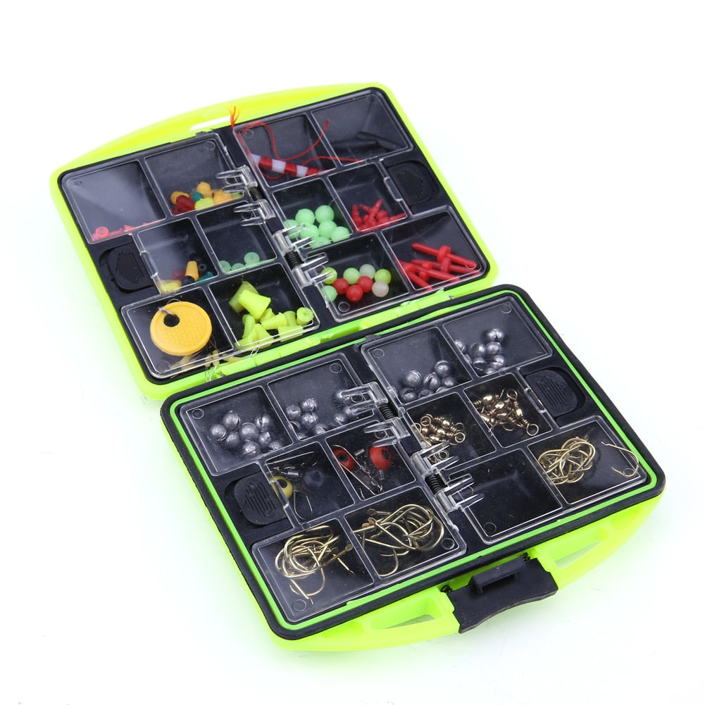24 Multifunctional Fishing Tool Set Full Loaded Lure Bait Hooks Swivel Jig Hooks pescar tools Fishing Equipment Tackle Boxes